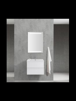 Underskab 60x48cm, inklusiv kantate vask, 3 varianter: Hvid/Sort/Ceder Grey, fra Dansani-20