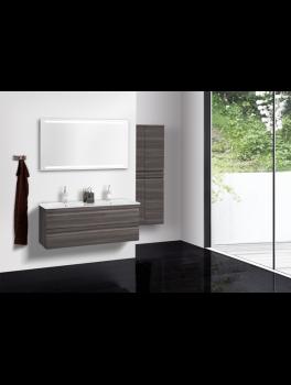 Underskab 120x48cm, inklusiv kantate vask, 3 varianter Hvid/Sort/Ceder Grey, fra Dansani-20