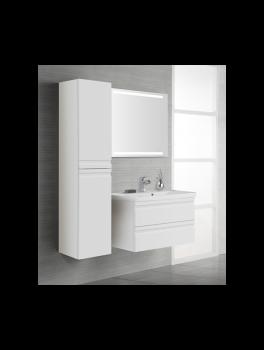 Underskab 120x48cm, inklusiv menuet vask, 3 varianter Hvid/Sort/Ceder Grey, fra Dansani-20