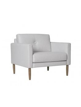 Calm lænestole i grå fra Bloomingville (udstillingsmodel)-20