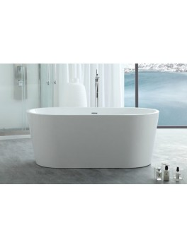 Fritstående badekar Søndersø 135 150 170 cm-20