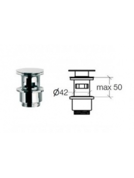 KlikventilmedoverlbKrom5080mm-20