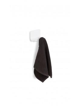 Dobbelt håndklædekrog Hvid Sort-20