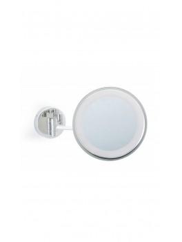 Kosmetikspejl med lys via touch Væghængt-20