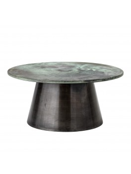 Allison sofabord i grøn/aluminium fra Bloomingville-20