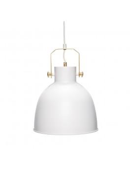 Lampe i hvid/guld fra Hübsch-20