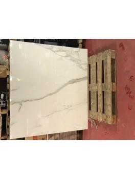 Calcatta White Glossy / 140 x 160 cm-20