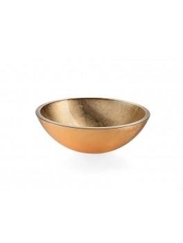 Glasbowl Guld-20
