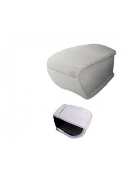 HIDRA HI-LINE væghængt toilet Hvid Sort (sæde og skål sælges separat)-20