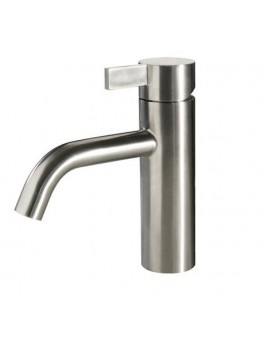 Noba W4 badeværelses armatur i børstet rustfri stål fra Cassøe-20