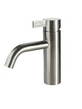 Noba W4 badeværelses armatur i børstet stål fra Cassøe-20
