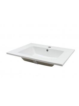 POR 51 Heldækkende porcelænsvask Hvid-20