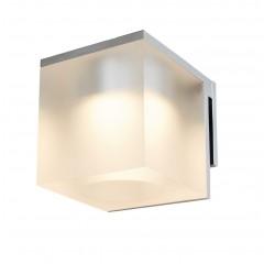 Vetro spejllampe - Isglas/Krom - Isglas/Hvid - Isglas/Sort - Klar glas/Krom - Klar glas/Hvid - Klar glas/Sort - Klar glas/Børstet messing