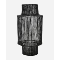 Sort Tabia lanterne fra House Doctor - Large