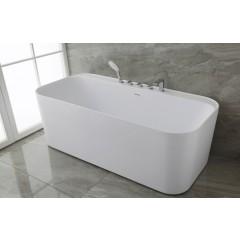 Fritstående badekar Langsø - Mat - 170 cm