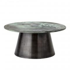 Allison sofabord i grøn/aluminium fra Bloomingville