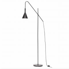 Gulvlampe i metal sort fra Hübsch
