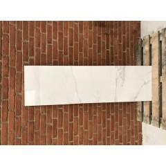 Calcatta White Glossy / 45,5 x 160 cm