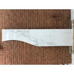 Calcatta White Glossy / 60 x 125 eller 40 x 184 cm