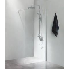 Cassøe SLIM - Klar - Isglas - 70 - 80 - 90 - 100 x 200 cm