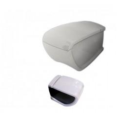 HIDRA HI-LINE væghængt toilet - Hvid - Sort - (sæde og skål sælges separat)