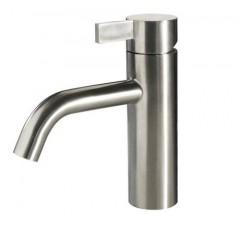 Noba W4 badeværelses armatur i børstet rustfri stål fra Cassøe