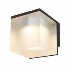 Vetro spejllampe - Isglas/Sort